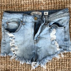 Distressed Shorts